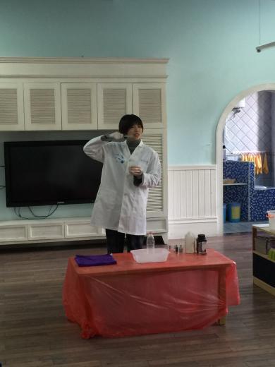 大象牙膏——记中三班小小实验课